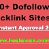 100+ Dofollow Backlink Sites Instant Approval free 2019