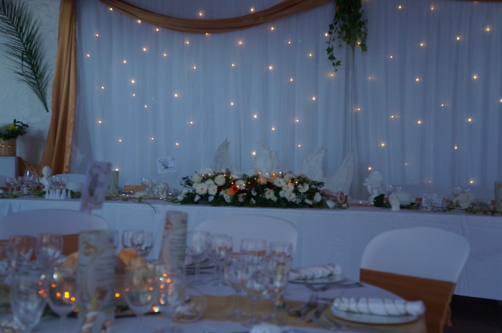 Decoration salle mariage, theme mariage : grèce