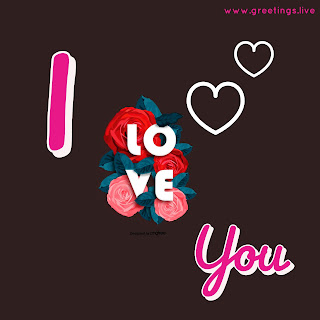 Tow love hearts creative I love you proposal image HD.jpg