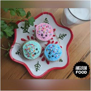 patron amigurumi Sugar Cookie amigurumi food