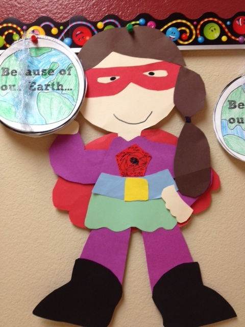superhero craft ideas for preschoolers buzzing about second grade calling all earth day superheros 7214