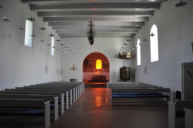 Romański kościół w Jelling