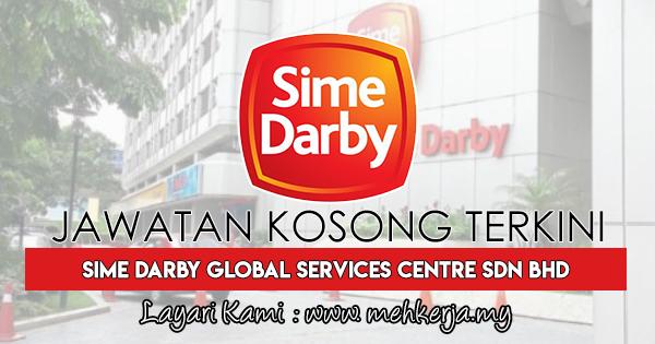 Jawatan Kosong Terkini 2018 di Sime Darby Global Services Centre