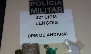 Polícia Militar prende traficante