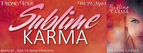 Sublime Karma by Peyton Garver + GIVEAWAY