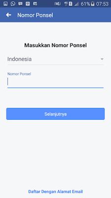 daftar facebook login
