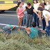 Ônibus Universitário de Ipu envolve-se em acidente de trânsito no trecho entre Varjota e Cariré