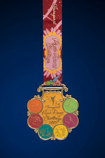 Tinkerbell Pixie Dust Challenge medal