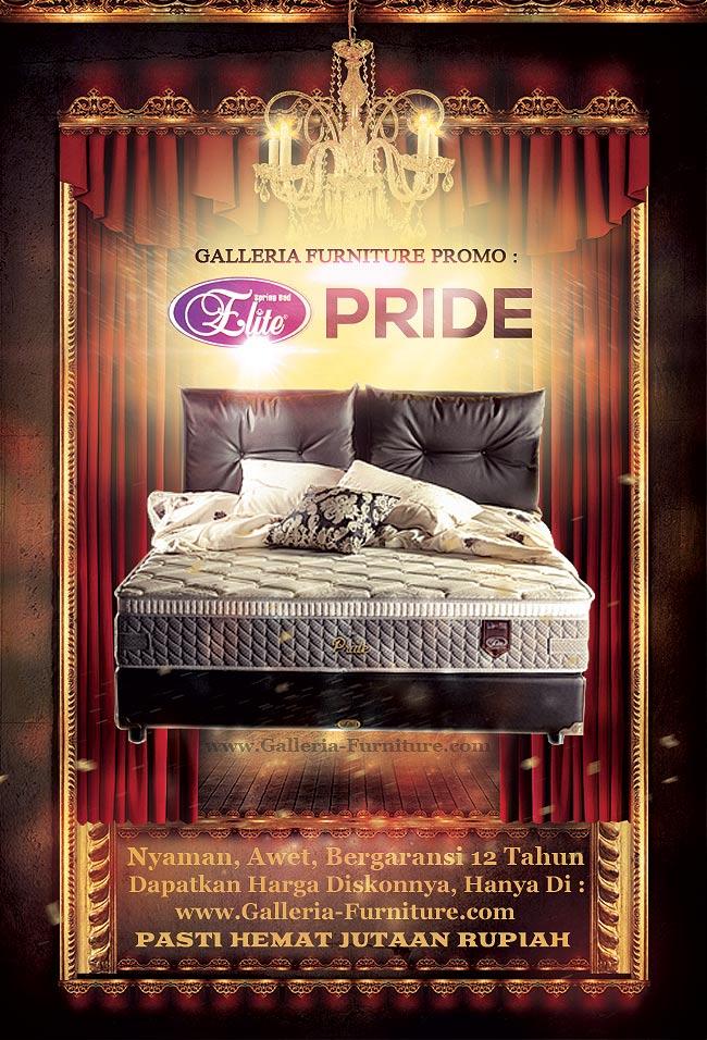 Spring Bed Elite Pride Gambar Daftar Harga