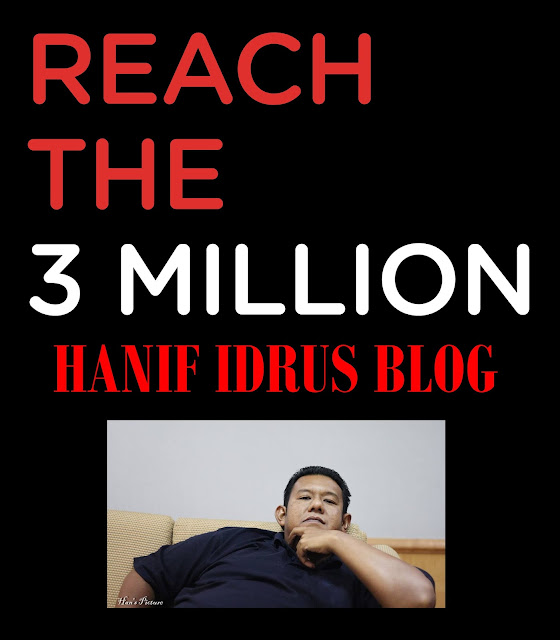 Hanif Idrus Mencapai 3 Juta Pageview