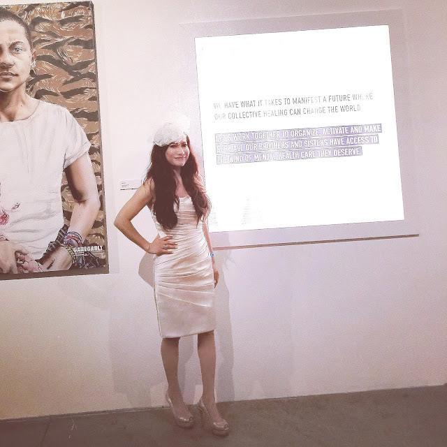 Joanna Joy A Stylish Love Story Fashion Blogger Petite Fashion Blogger Fascinator heels champagne colored sheath dress