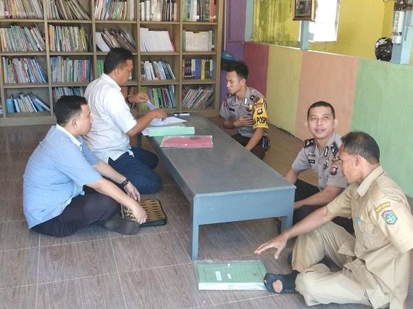 Dinas Perpustakaan dan Kearsipan Kalbar Kunjungi Taman Bacaan Bhayangkara Wira Pratama di Sekadau