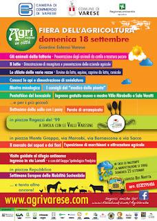Agrivarese in città 18 settembre  Varese