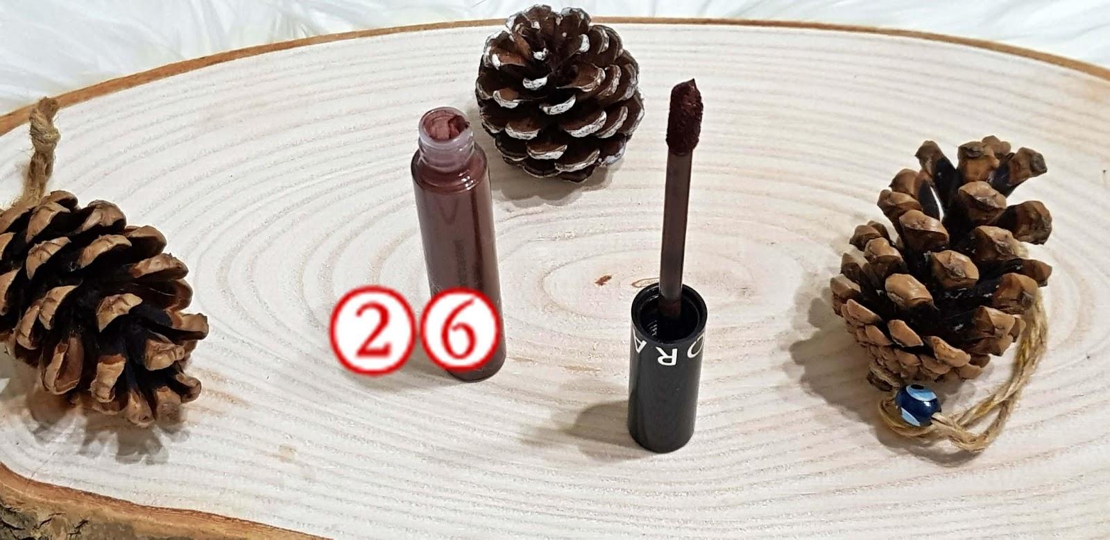 Sephora Cream Lip Stain Likit Mat Ruj 26 Gülümse Yüzüme Makyaj