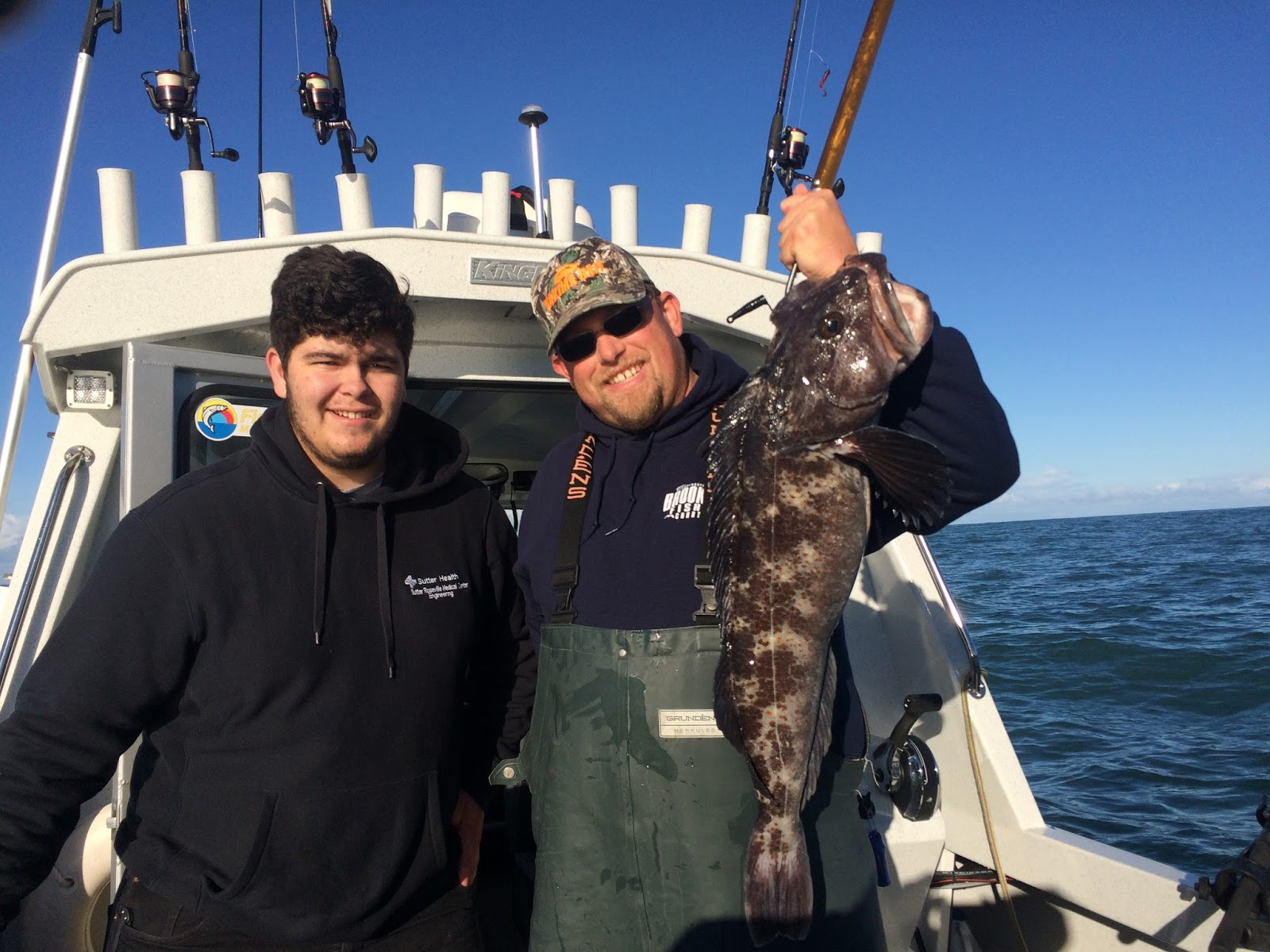 Brookings oregon fishing charters march 2017 for Charter fishing brookings oregon