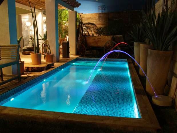 Piscina de concreto vinil ou fibra de vidro dica da for Modelos de piscinas de cemento