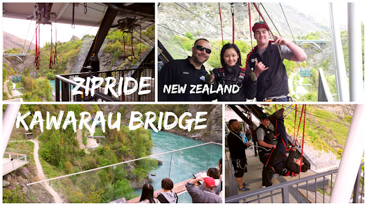"ZipRide Swing @ Kawarau Bridge | 卡瓦劳桥高空荡""千秋"""