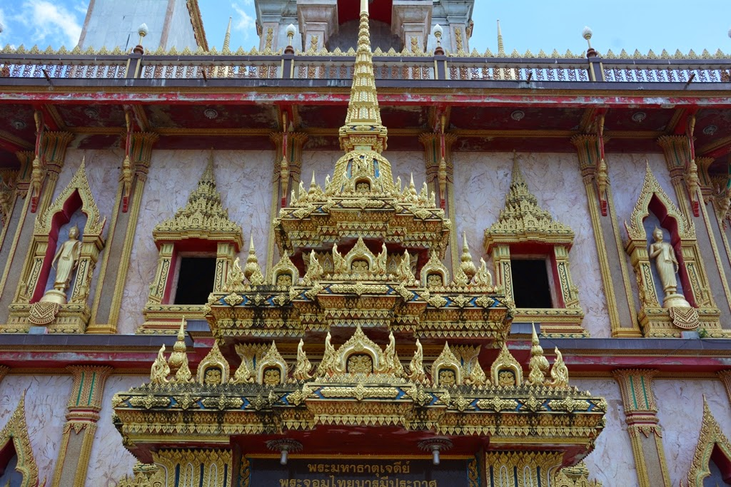 Wat Chalong Temple Phuket gold