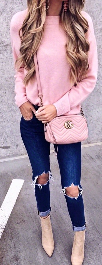 Flawless Spring Outfits To Inspire You #SpringOutfits