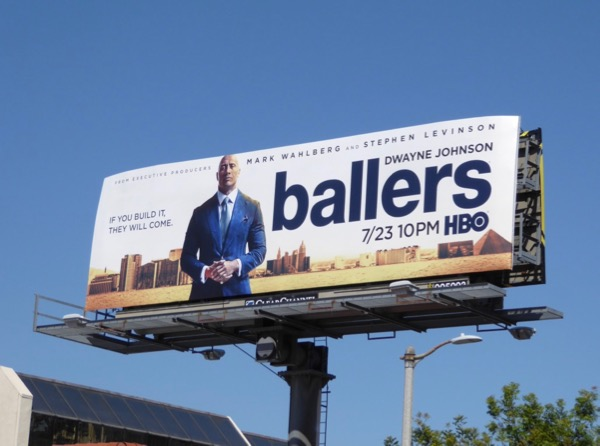 Ballers season 3 HBO billboard