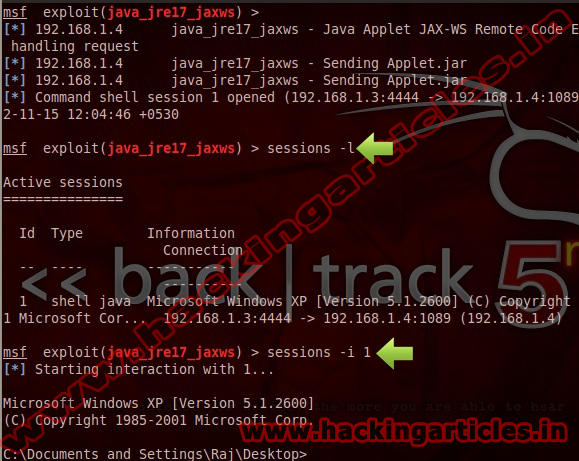 4 Hack Remote Windows or Linux PC using Java Applet JAX WS Remote Code Execution