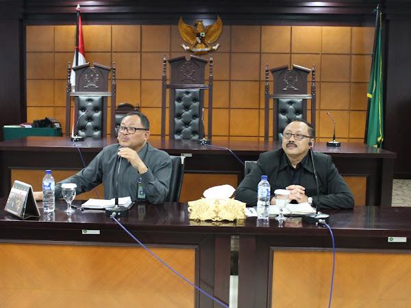 Disiplin Pegawai, Minutasi Perkara hingga keadaan gedung dibahas (Rapat Internal PTTUN Jakarta)