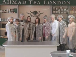 Со студентами ХНЭУ проведена экскурсия на чайной фабрике Ахмад Ти