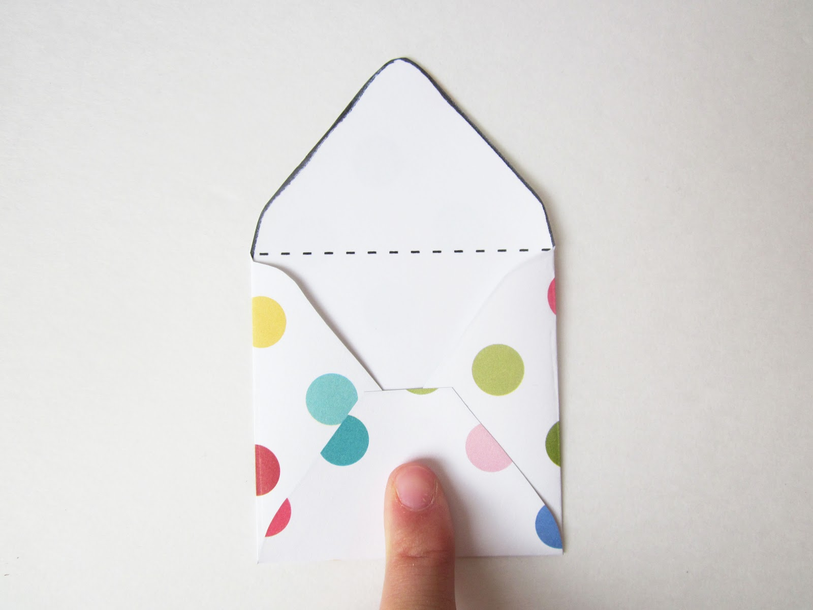 the red kitchen diy mini envelopes free printable pattern tutorial