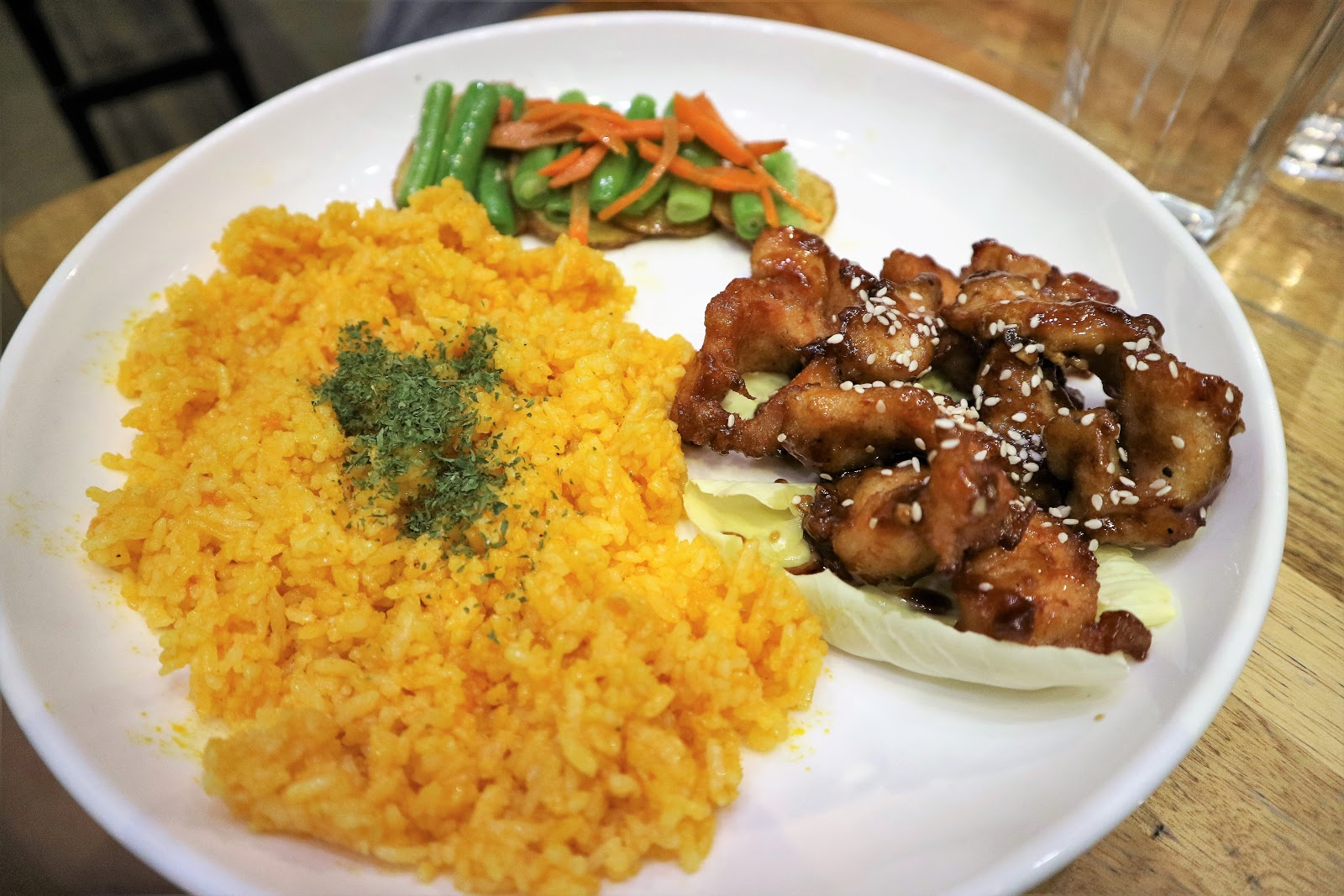 Meatyard's Honey Soy Garlic Chicken Crunch (PHP 160)