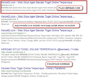 SITUS TOGEL ONLINE TERPERCAYA KERIS4D.COM