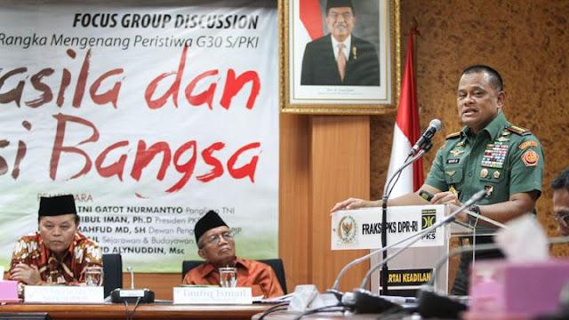 Pidato di NasDem, Gatot Nurmantyo Dielu-elukan Jadi Calon Wapres