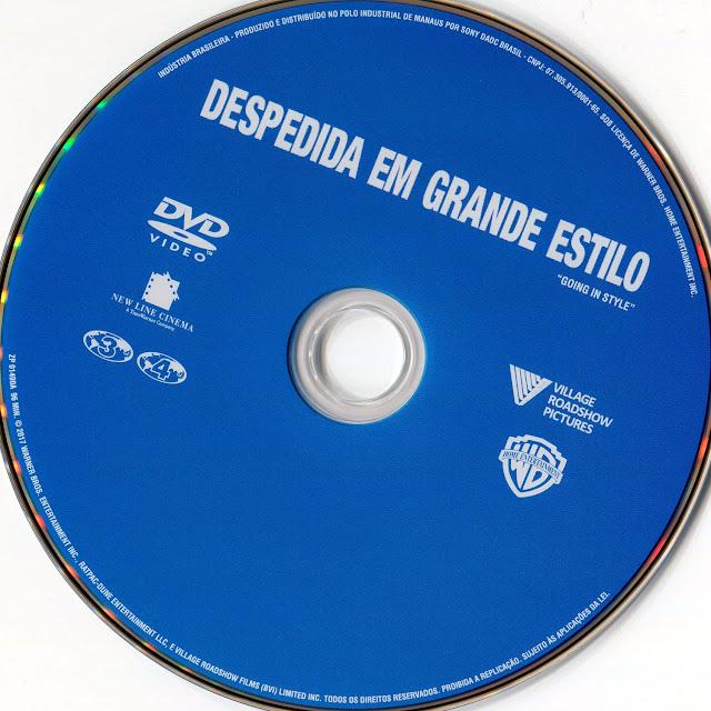 Label DVD Despedida em Grande Estilo (Oficial)