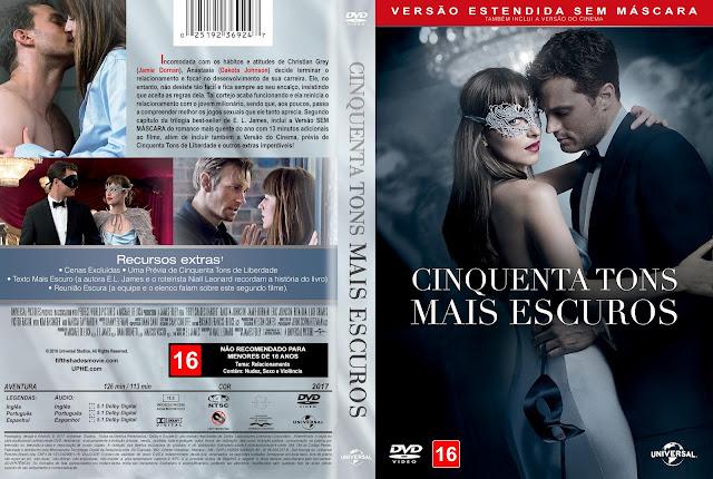 Capa DVD Cinquenta Tons Mais Escuros [Custom]