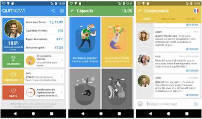 تحميل تطبيقQuitNow يساعدك على الإقلاع عن التدخين