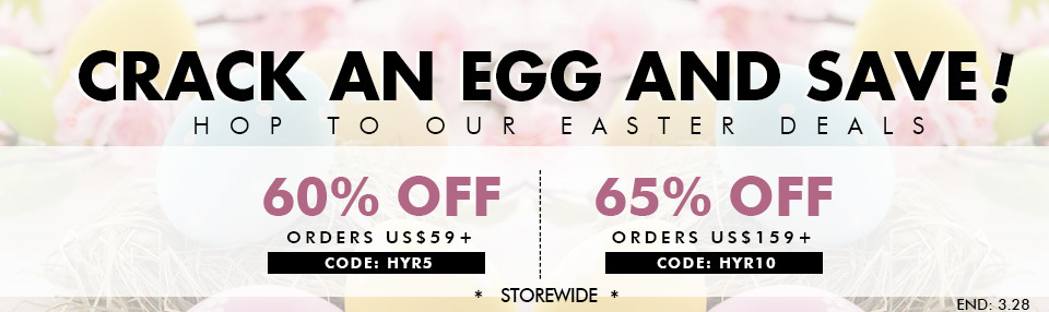 Romwe Easter Deals