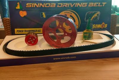 Spesifikasi dan Harga Sinnob Driving Belt ada Garansinya.