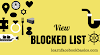 View Blocked Users On Facebook - How To See Or View My Blocked List