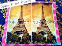 Stiker, skotlet atau garskin skin hp Oppo Find Piano Paris
