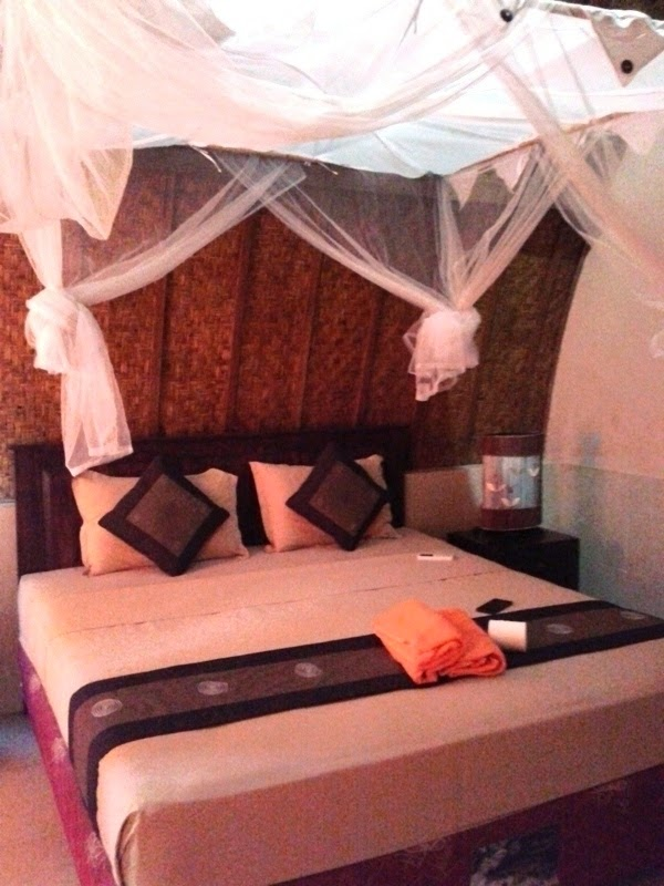 Kamar Tidur Angels Cottage Gili Trawangan