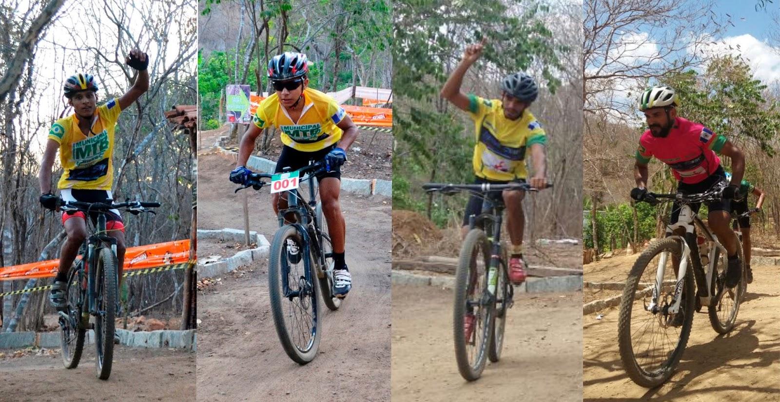 Blog de Altaneira: Os Campeões do Municipal MTB de Altaneira