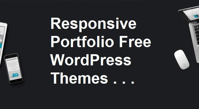 Responsive Portfolio Free WordPress Themes