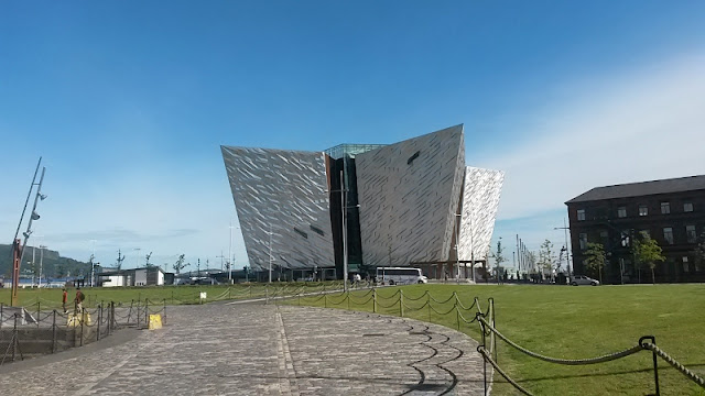 The Titanic Experience building Belfast