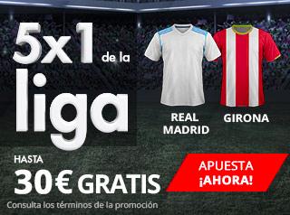suertia promocion Real Madrid vs Girona 18 marzo