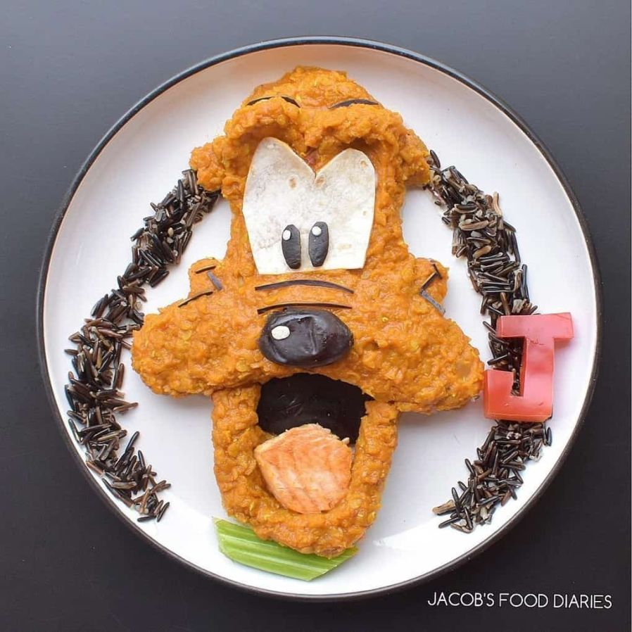 Food Art: Creative Mom Turns Children's Dishes Into Cartoon Characters, and They Will Want to Eat Even Adults