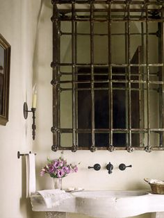 French country bathroom by Eleanor Cummings