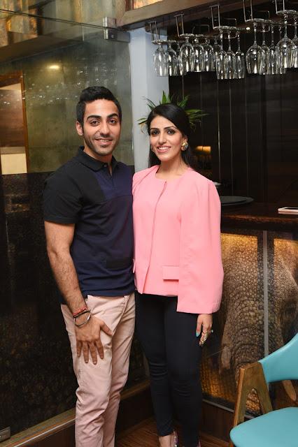 Chef Gurmehar Sethi +Neha Singh