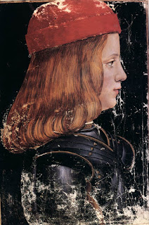 Maximilian Sforza was installed  as Duke of Milan