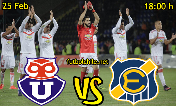 Ver stream hd youtube facebook movil android ios iphone table ipad windows mac linux resultado en vivo, online: Universidad de Chile vs Everton