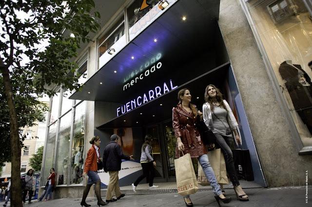 Compras em Madri