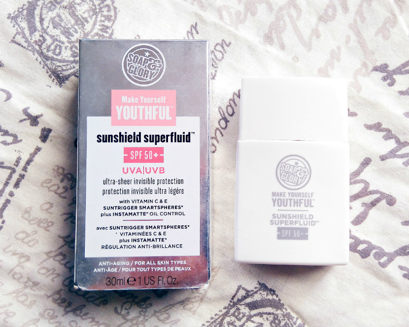 Soap & Glory Sunshield Superfluid SPF50